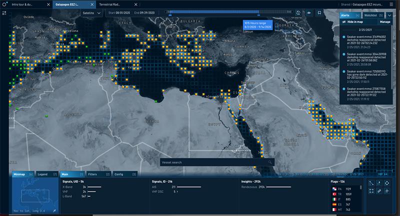 HawkEye 360 uses Amazon SageMaker Autopilot to streamline machine learning model development for maritime vessel risk assessment