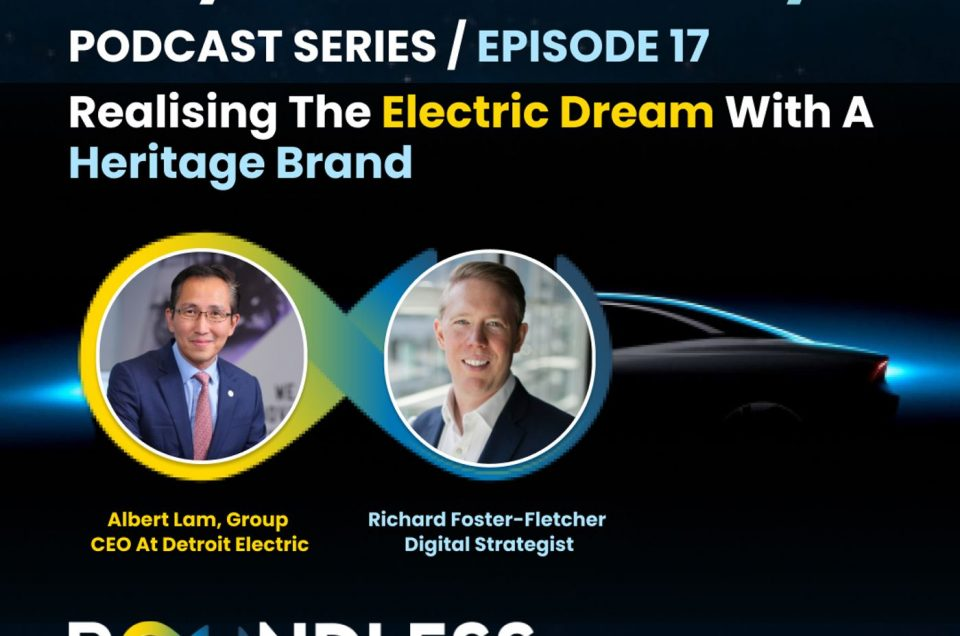 EP17 Beyond Journeys: Albert Lam, Group CEO at Detroit Electric – Realising the electric dream with a heritage brand