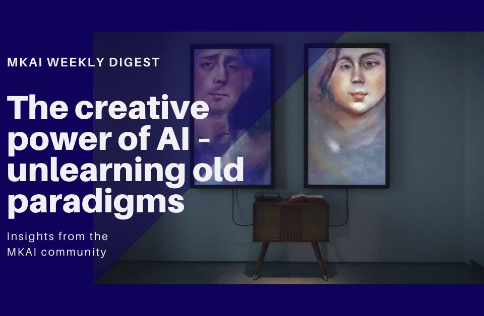 The creative power of AI – unlearning old paradigms