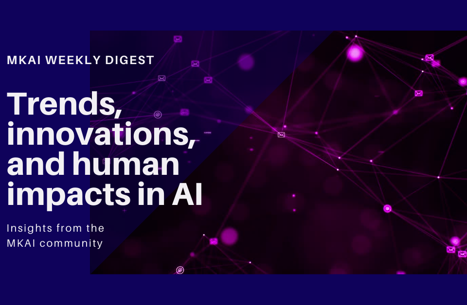 Trends, innovations and human impacts on AI