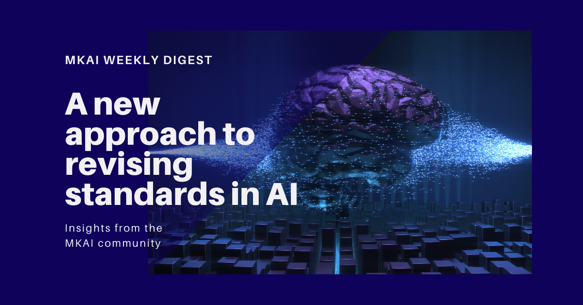 A new approach to revising standards in AI