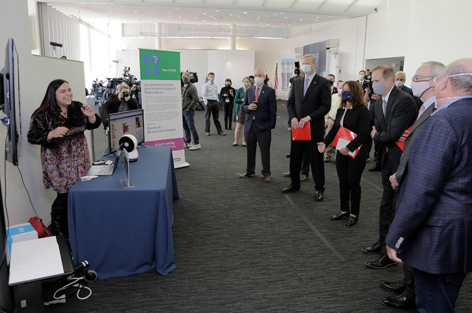 At Mass STEM Week kickoff, MIT RAISE announces Day of AI