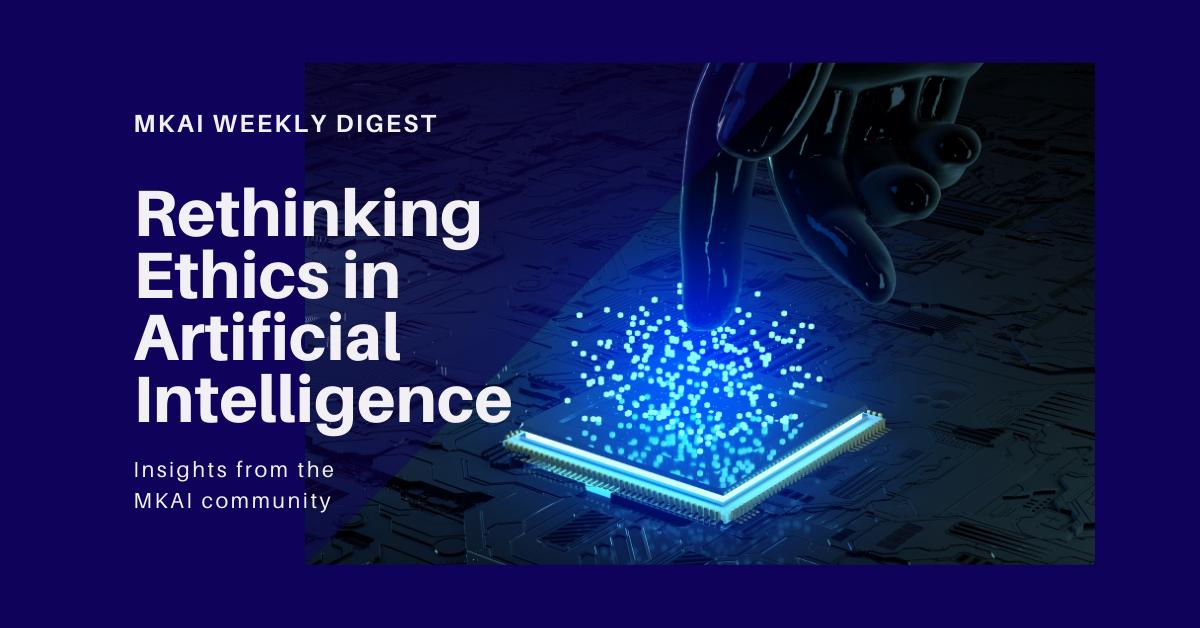 Rethinking Ethics in AI